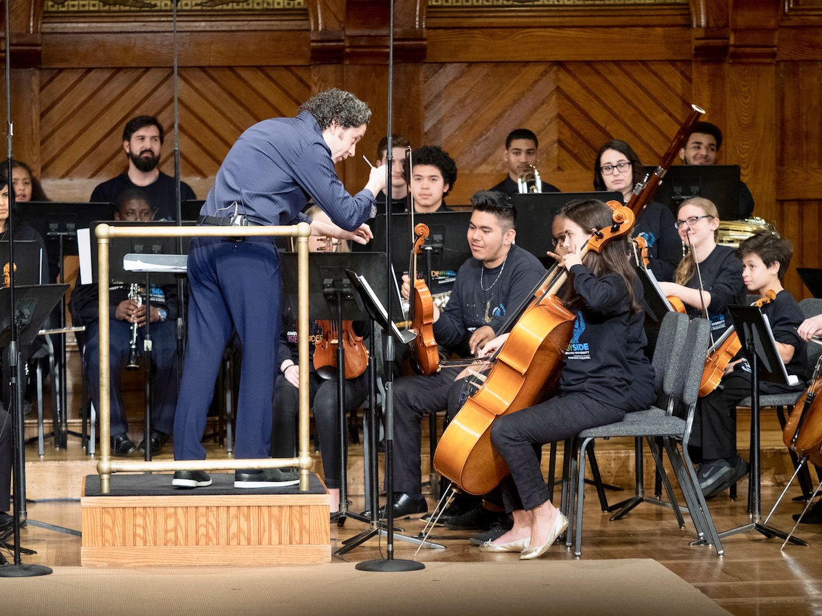 Dudamel performance at Harvard